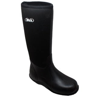 "Men's 16"" Rubber Boot Black"