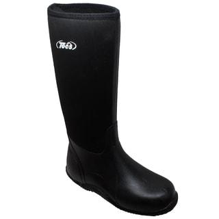 "Men's 16"" Rubber Boot Black"