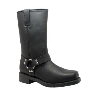 """Men's 13"""" Waterproof Harness Boot Black"""