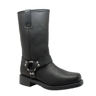 "Men's 13"" Waterproof Harness Boot Black|https://ak1.ostkcdn.com/images/products/17152882/P23417334.jpg?impolicy=medium"