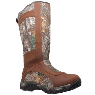 "Men's 15"" Snake Bite Boot Camo Brown