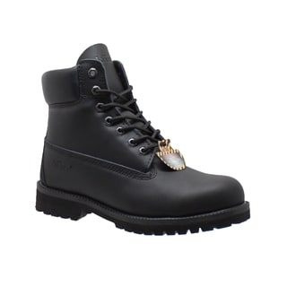 "Men's 6"" Steel Toe Work Boot Black"