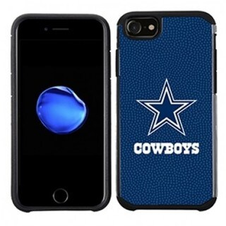 NFL Licensed Dallas Cowboys Slim Hybrid Texture Case for Apple iPhone 6 / 6S