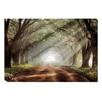 Artistic Home Gallery Mike Jones Evergreen Plantation Gallery-wrapped Canvas Wall Art