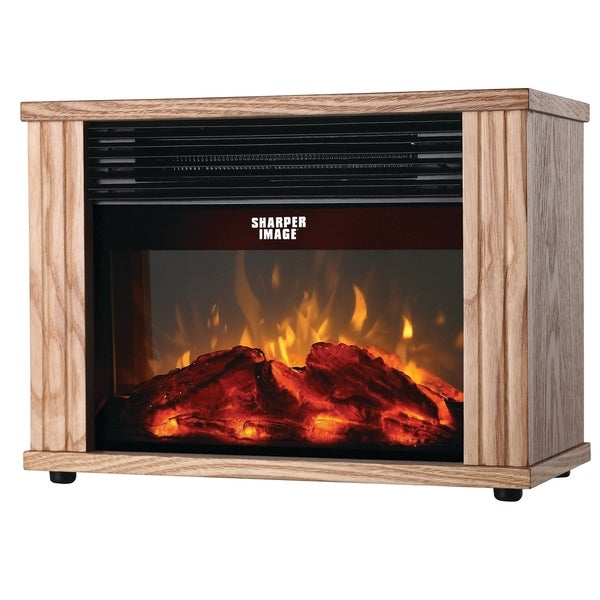 Shop Sharper Image Electronic Fireplace Heater Free