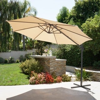Piazza Outdoor 11.50 Foot Canopy Umbrella By Christopher Knight Home