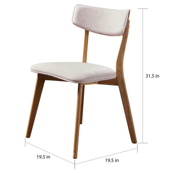 Astounding Shop Chazz Mid Century Fabric Dining Chair By Christopher Cjindustries Chair Design For Home Cjindustriesco