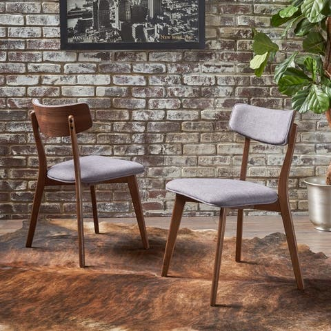 Chazz Mid-century Dining Chair by Christopher Knight Home (Set of 2)