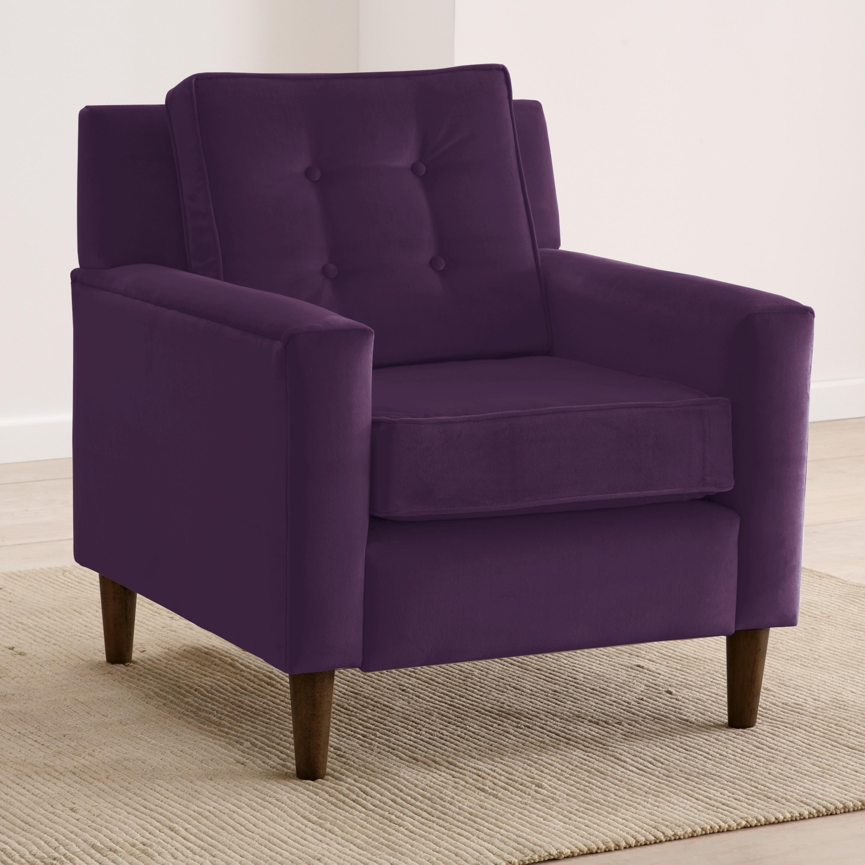 Futuristic Purple Accent Chairs Minimalist