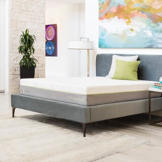 WELLSVILLE 11-inch Split Cal King Size Latex Innerspring Hybrid Mattress