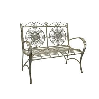 Jeco Qamar Iron Garden Bench