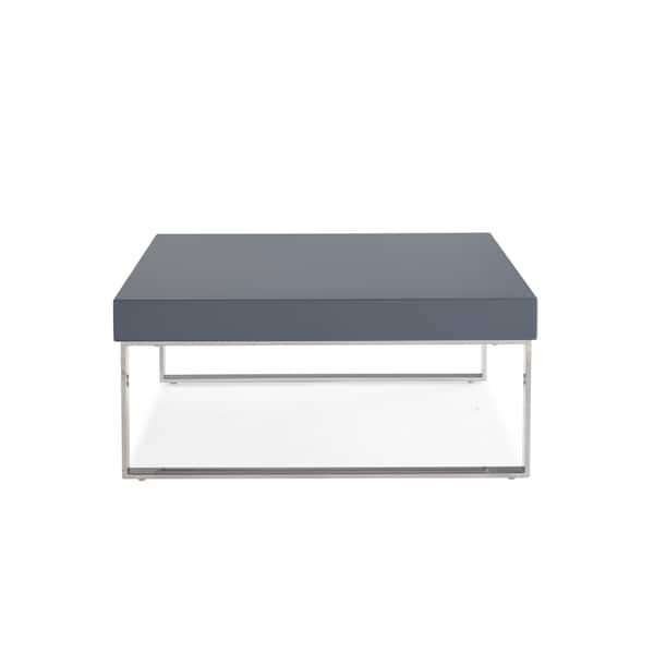 Shop Handy Living Enrique Light Grey Square Coffee Table With