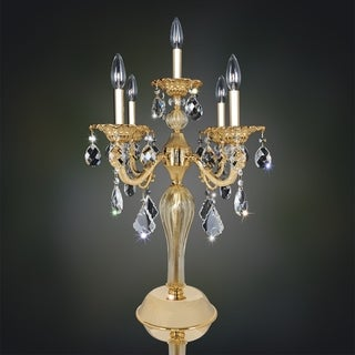Allegri Vivaldi 5 Light Table Lamp