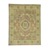 Shahbanu Rugs Mamluk Design Hand-Knotted Pure Wool Oriental Rug (8' x 10')