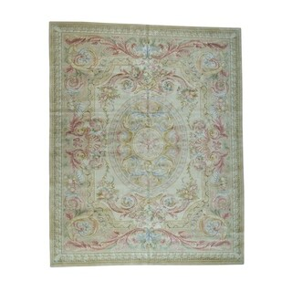 1800getarug Oversize Thick And Plush Savonnerie Louis Phillippe Design Rug (12' x 18')