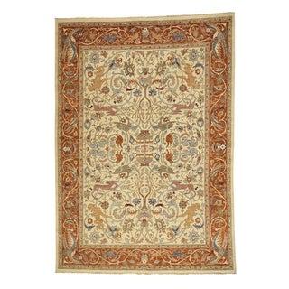 1800getarug Hand-Knotted Pure Wool Peshawar Hunting Design Oriental Rug (10' x 14')