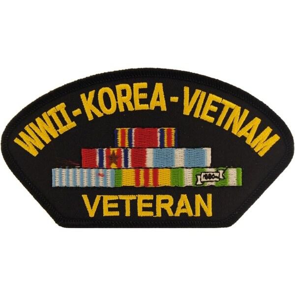 World War II Korea Vietnam Veteran Patch