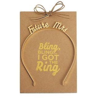 Mud Pie 'Future Mrs.' Headband