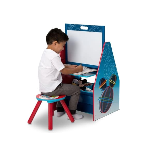 Shop Disney Mickey Mouse Activity Center Easel Desk With