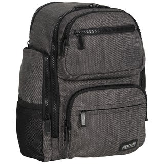 Kenneth Cole Reaction Heathered-TwillDual Compartment 15-inch Laptop Backpack