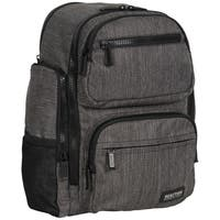 Kenneth Cole Reaction Heathered-twill Dual Compartment 15-inch Laptop Backpack