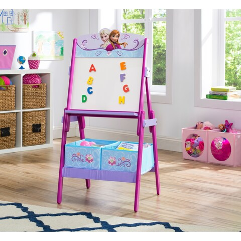 Disney Frozen Activity Easel with Dry Erase Board and Magnetic Letters - Multi