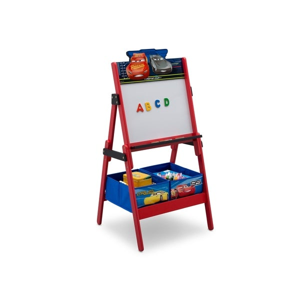 Disney/Pixar Cars Activity Easel with Dry Erase Board and Magnetic Letters - Multi
