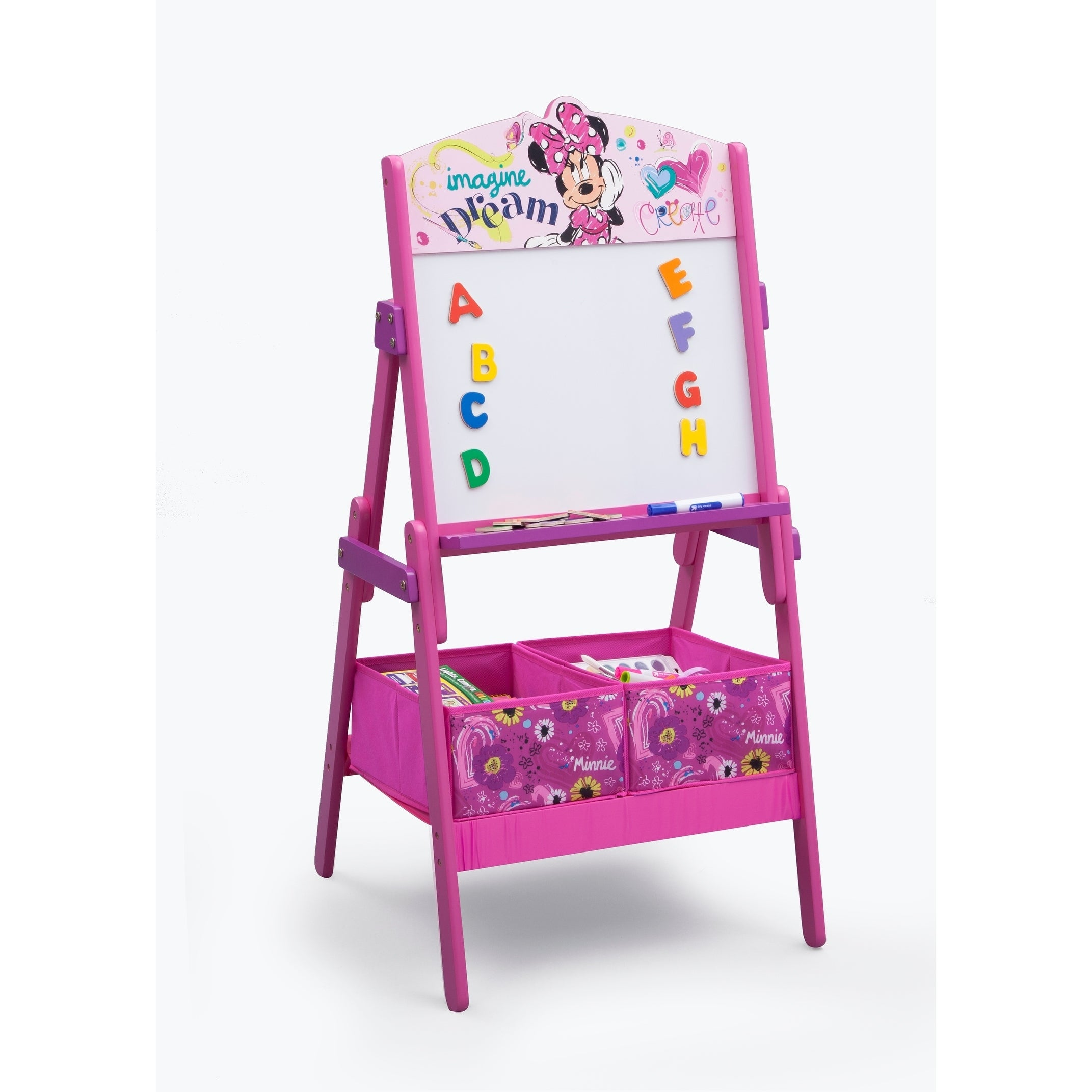 Disney Minnie Mouse Activity Easel with Dry Erase Board a...