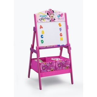 Disney Minnie Mouse Activity Easel with Dry Erase Board and Magnetic Letters - Multi