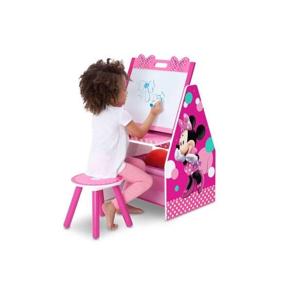 Awe Inspiring Shop Disney Minnie Mouse Activity Center Easel Desk With Creativecarmelina Interior Chair Design Creativecarmelinacom