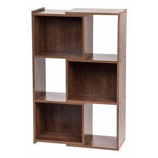 Iris Dark Brown 30-inch Expandable Bookcase