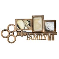 Family Key Collage Wall Art Frame
