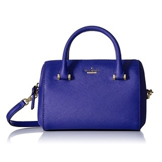 Kate Spade New York Cameron Street Lane Nightlife Blue Satchel Handbag