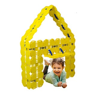 Fort Boards Yellow Kids' Building Toy Starter Pack