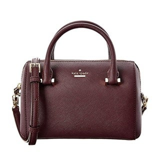 Kate Spade New York Cameron Street Lane Mahogany Satchel Handbag