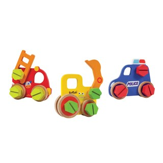 Boikido Wooden Vehicle Construction (Set of 36)