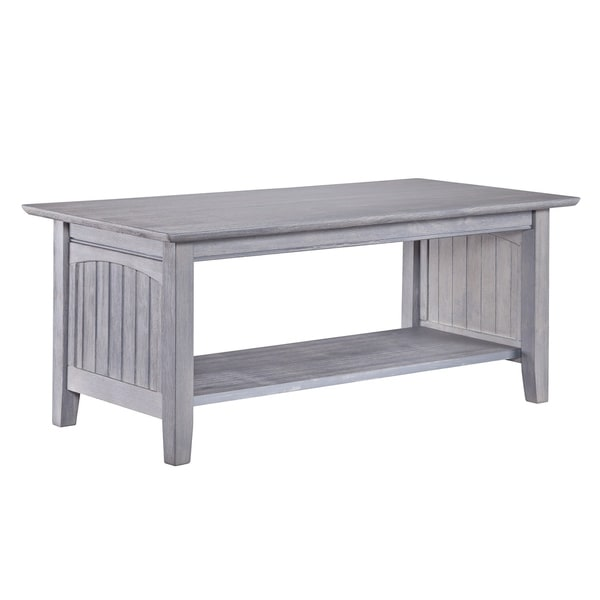 Nantucket Coffee Table Driftwood Grey