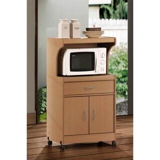 Hodedah Microwave Oven Cart