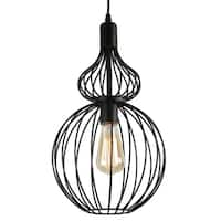 Journee Home Arden Iron 18-inch Hardwired Pendant Lamp