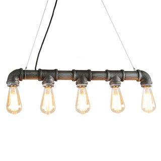 Journee Home 'Bronte' Iron 27-in Bulbs Included Hard Wired Chandelier