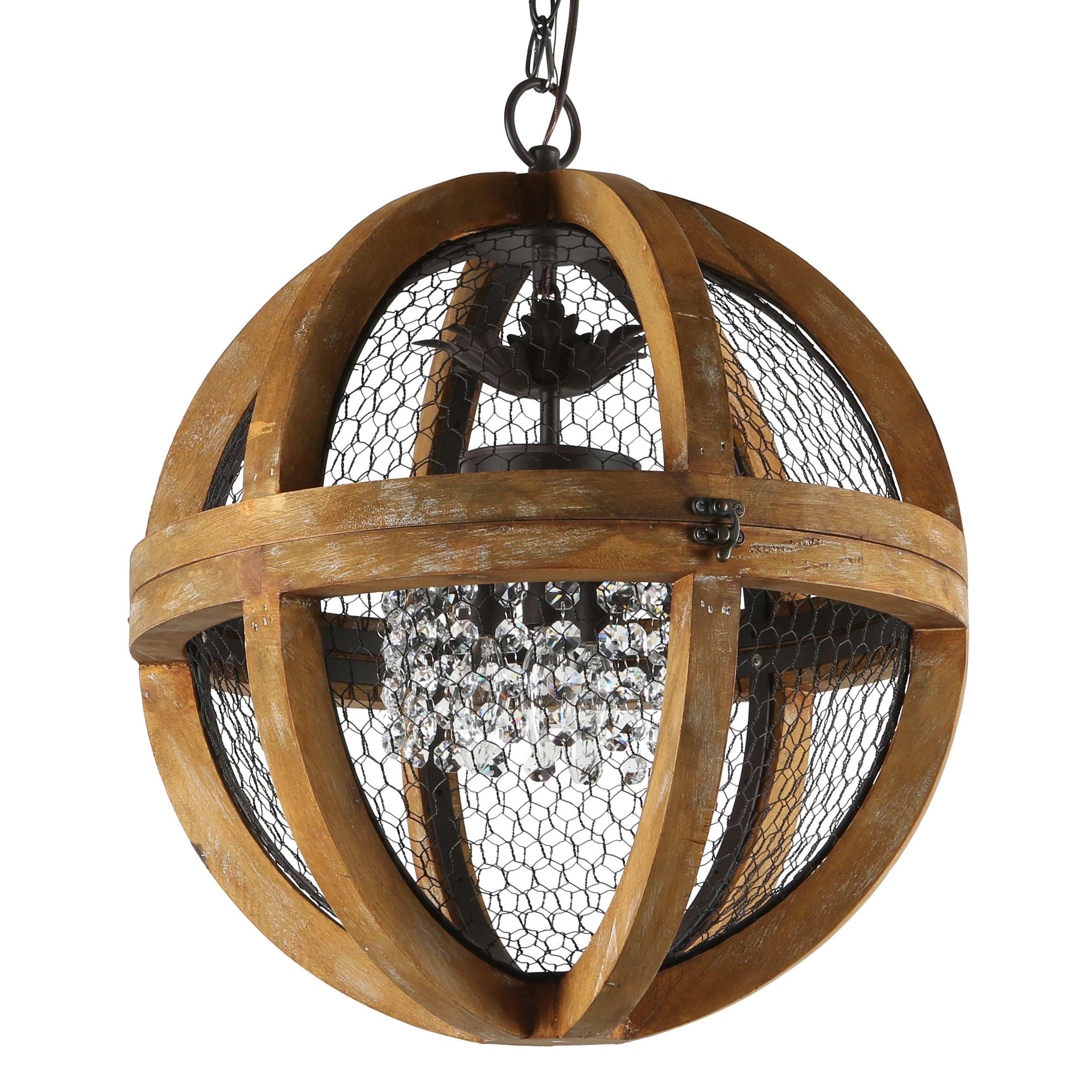 journee lighting. Journee Collection Rimini Wood/Iron/Acrylic 18-inch Hardwired Chandelier Lighting E