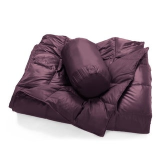 Packable Oversized Down Throw With Slumber Pouch (More options available)