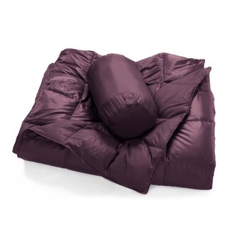 Packable Oversized Down Throw With Slumber Pouch (5 options available)