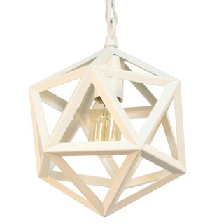 Journee Home 'Bristol Iron 10-in Hard Wired Edison Bulb Included Pendant Lamp (2 options available)
