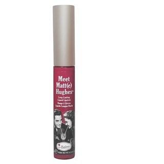 theBalm Meet Matt(e) Hughes Liquid Lipstick Faithful