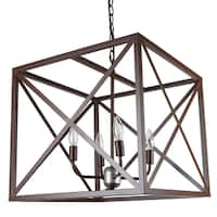 Journee Home Munich Iron 18-inch Hardwired Pendant Lamp