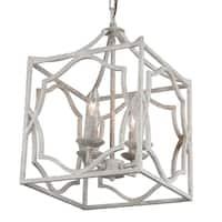 Journee Home Salerno Iron 18-inch Hardwired Pendant Lamp