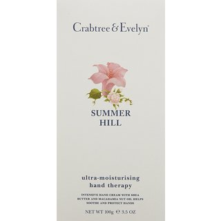 Crabtree & Evelyn Summer Hill 3.52-ounce Ultra-Moisturising Hand Therapy