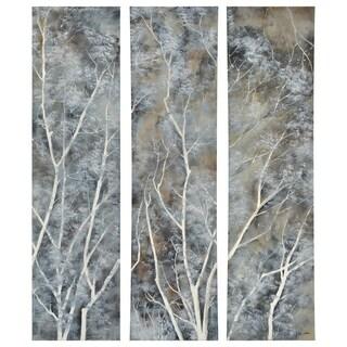 Renwil Alexa Unframed Rectangle Wood Wall décor