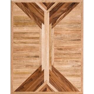 Renwil Nel Unframed Rectangle Mango Wood Wall décor